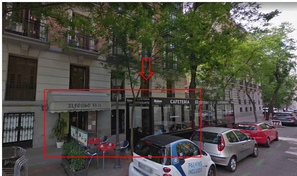 Local - 1ª línea comercial en rentabilidad  en Calle Alfonso XI