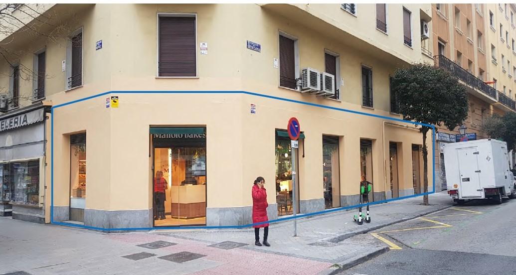 Local - 1ª línea comercial en rentabilidad  en Calle Narvaez