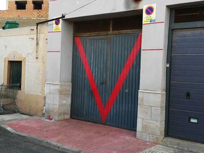Parking en venta  en Calle Alboran, Roquetas de Mar