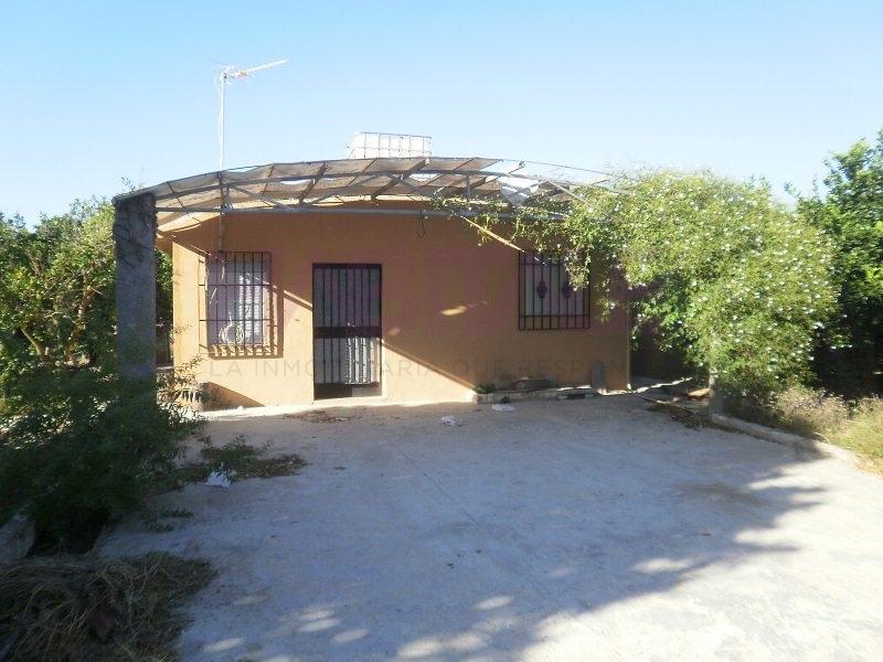 Casa  Alzira, Alzira, valencia, españa. Campo en venta con casita en Alzira. entre Alzira y benimuslem.
