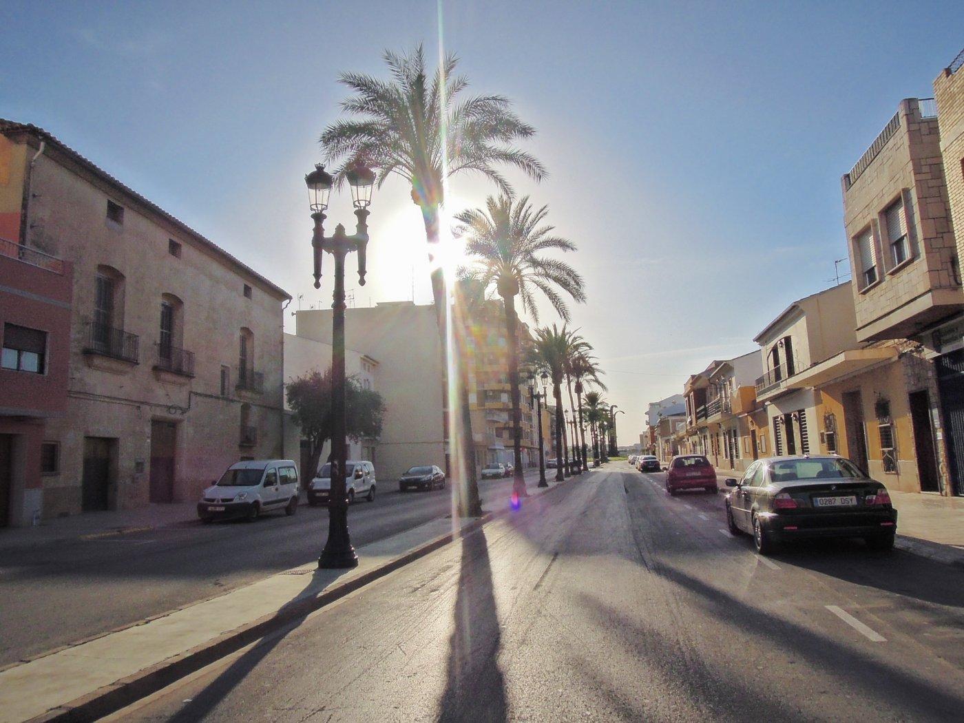 Terrain urbain  Rafelbuñol - rafelbunyol ,centro pueblo. La mejor calle para el mejor proyecto. casa solariega