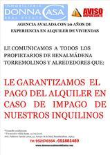 Piso en Alquiler en Nueva Promocion / Arroyo de la Miel