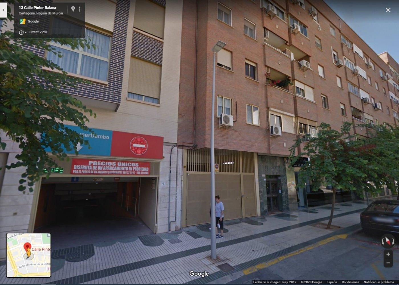 Alquiler Parking coche  Cartagena ,ramon y cajal. Inmocartago alquila plaza de garaje en c/ pintor balaca frente a