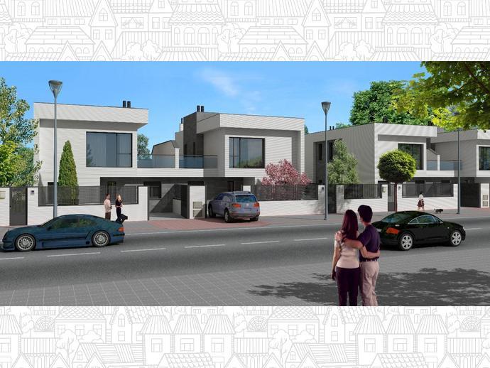 Casa adosada en villanueva de la ca ada en calle pais - Casa villanueva de la canada ...