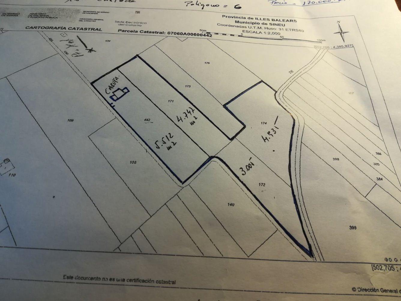 Urban plot  Zona centre - sineu