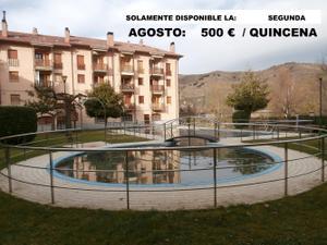 Apartamento en Alquiler en Con Garaje y Piscina Comunitaria / Ezcaray