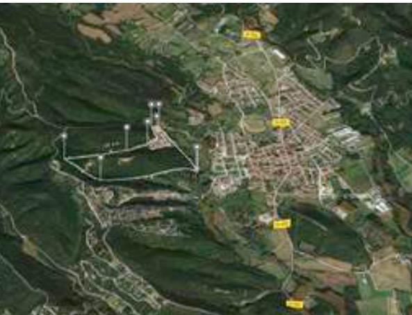 Affitto Locale commerciale  Calle carrer morou, 1. 10.000 m2 de naves almacen para alquilar en el massís del montse