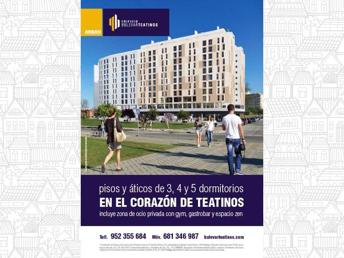 Foto 11 de Piso en Calle Bulevar Louis Pasteur 24 / Teatinos, Málaga Capital