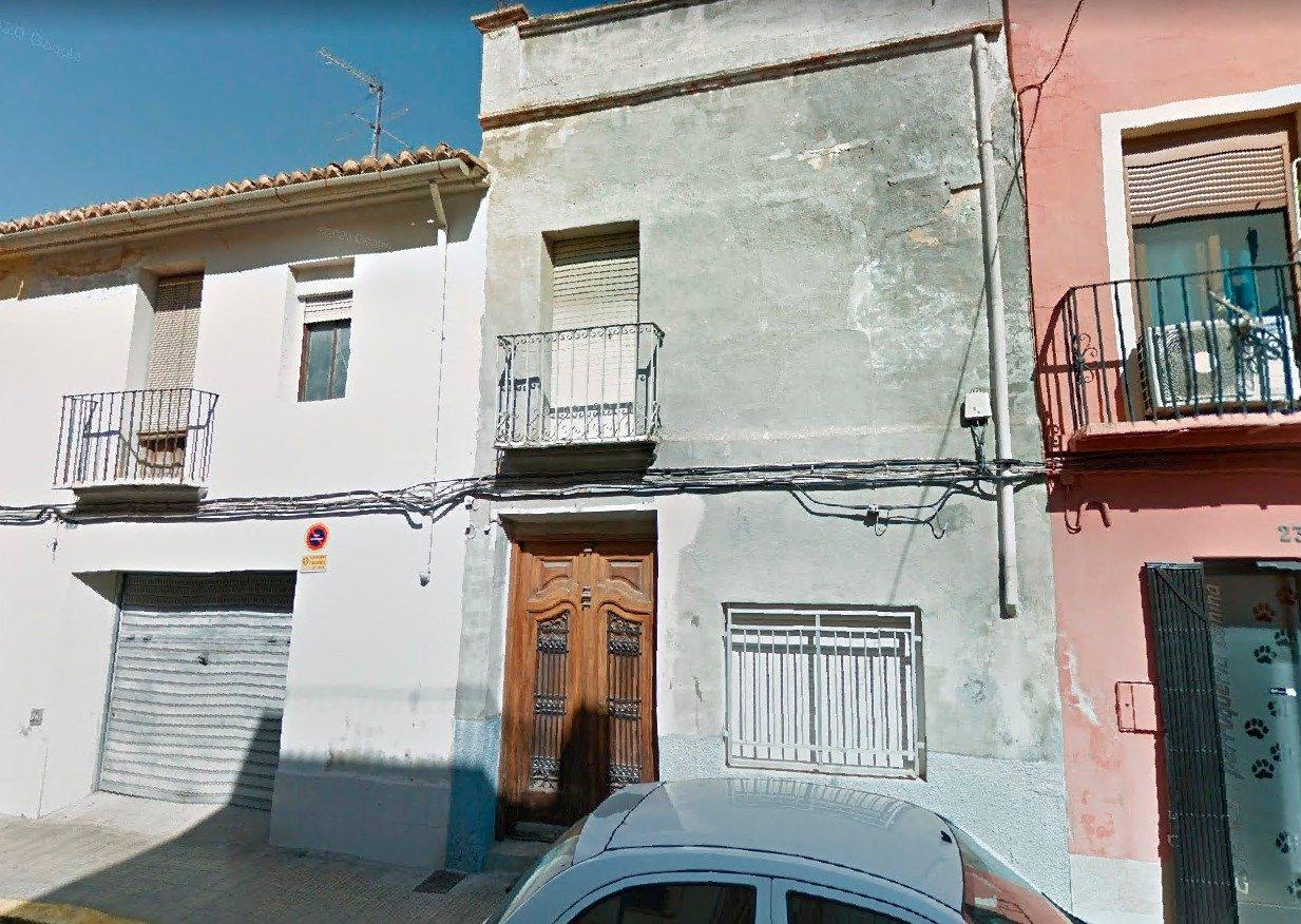 Terrain urbain  Calle baldoví. Alg704 - fincas girbés presenta casa solar en la calle baldoví d