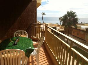 Piso en Alquiler en Fuengirola ,1ª Linea de Playa / Castillo Sohail - Myramar