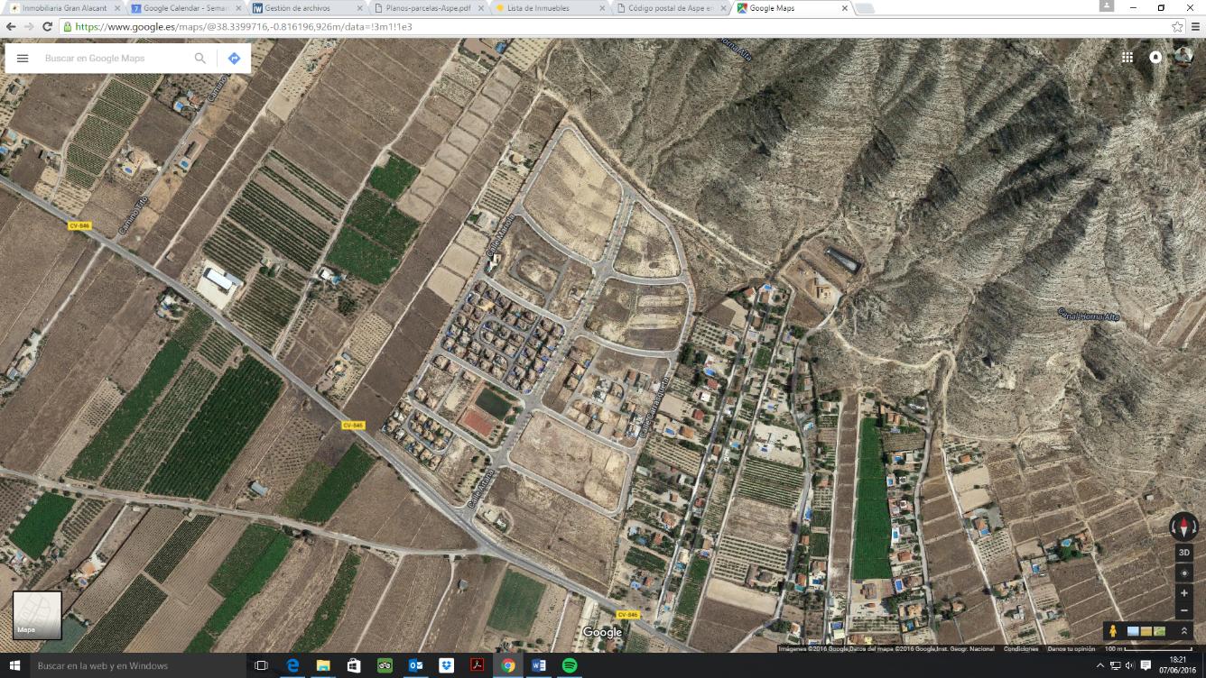 Terreno Urbanizable en venta en Aspe