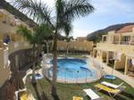 Vivienda Apartamento playa mogán. dormitorio doble, baño, terraza, piscina.