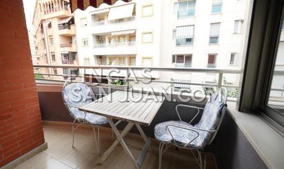Pisos de alquiler con terraza en Playa L'Amerador, Alicante