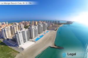 Apartamento en Alquiler vacacional en La Manga Beach Club, 3 / La Manga del Mar Menor