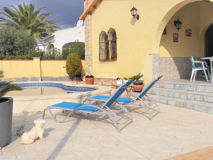 Foto 3 de Casa o chalet de alquiler vacacional en Carrer de Navarra, 40 Miami Platja, Tarragona