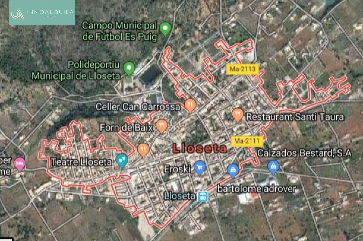Solar urbà  Lloseta ,pueblo. Solares urbanizables en lloseta