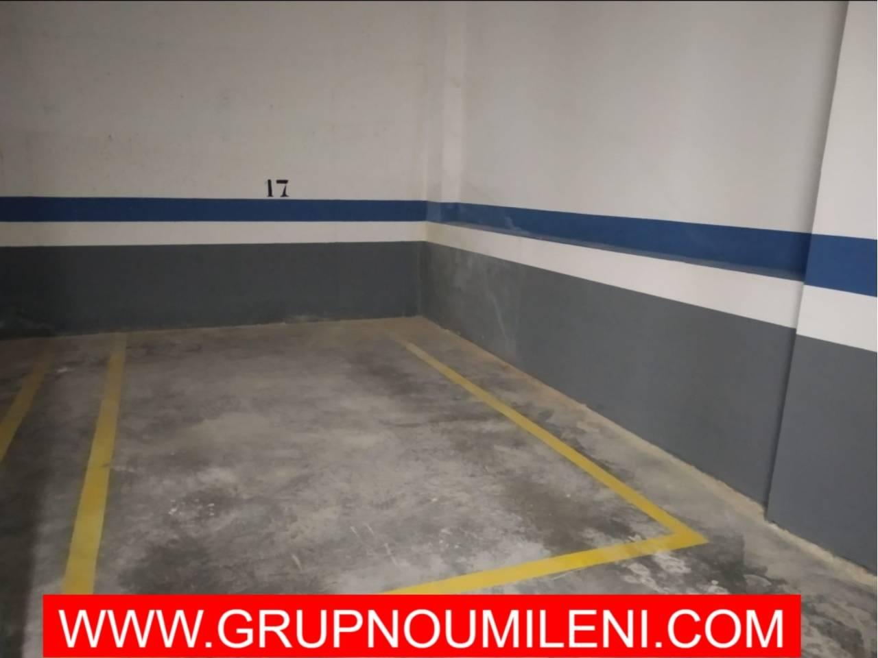 Location Parking voiture  Catarroja. Superficie total 12 m², garaje superficie útil 12 m², estado con