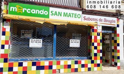 Locales de alquiler en San Mateo de Gállego