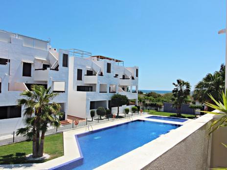 Apartamentos en venta con calefacción en Playa El Playazo -Vera Playa , Almería
