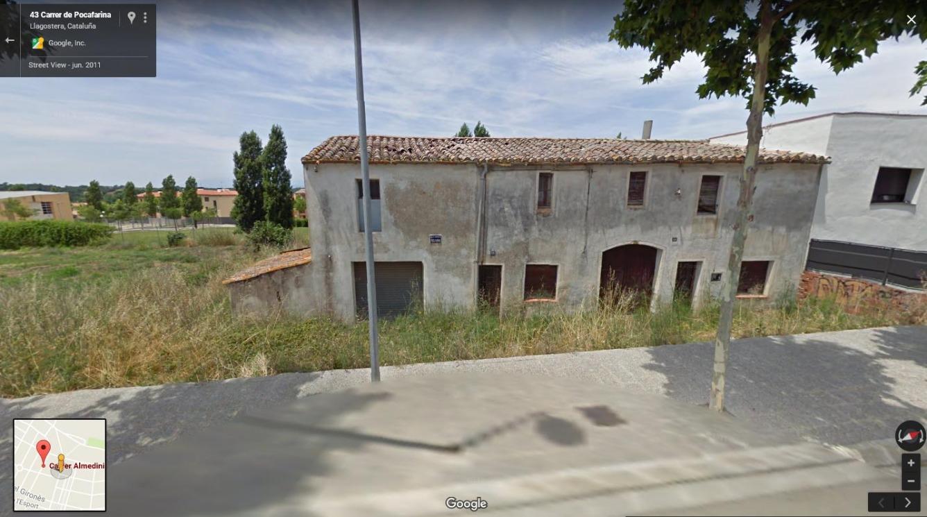 Solar urbano  Calle pocafarina. Parcel·la 389,91 m2, c/ pocafarina (sector ganix)  amb edifica