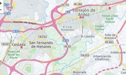 Terrenos en venta en San Fernando de Henares