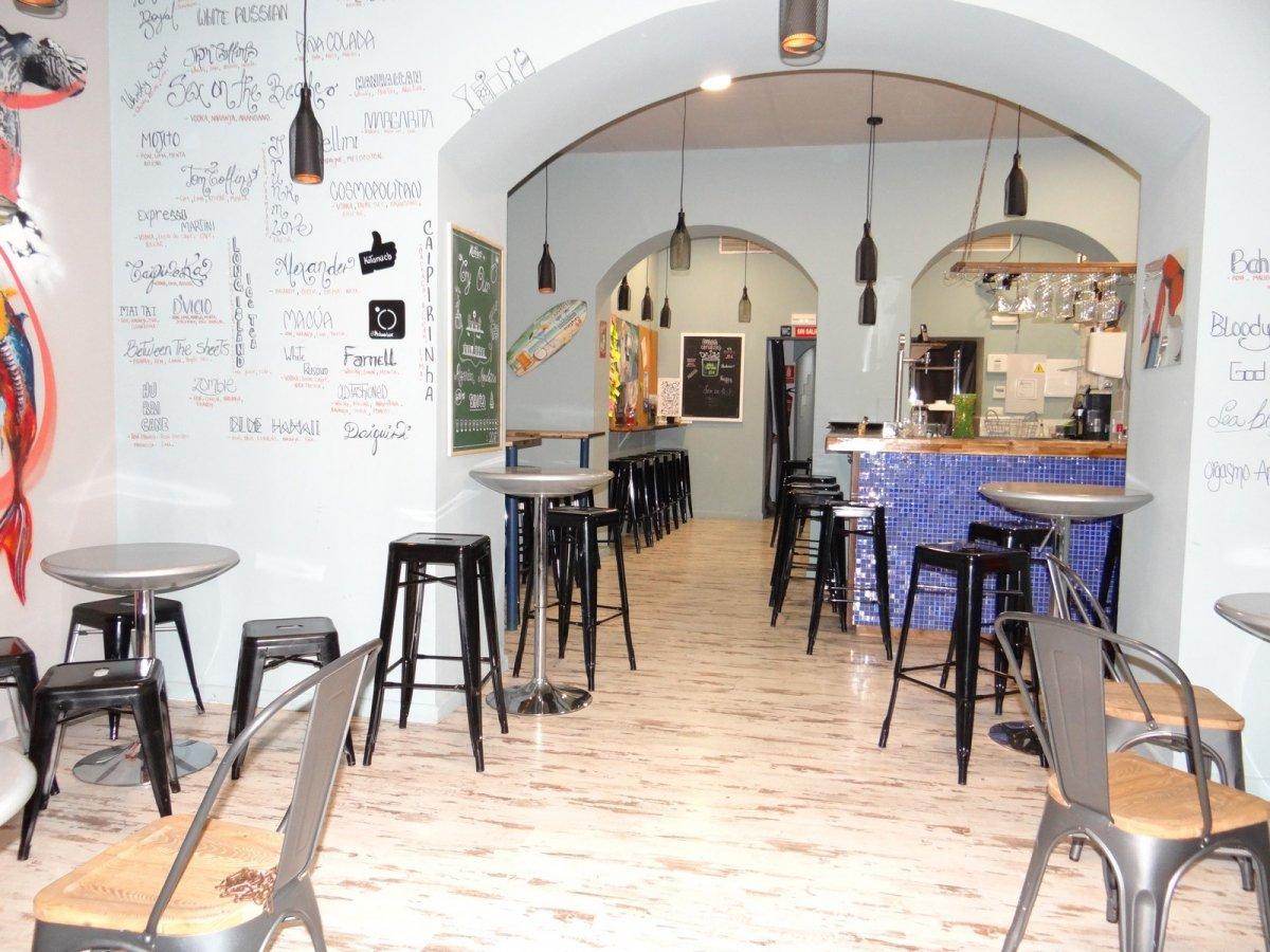 Traspaso Local Comercial  Palma de mallorca ,santa catalina. Traspaso de bar/cafetería en santa catalina