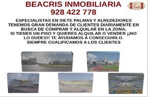 Piso en Alquiler en Siete Palmas 7 Palmas Avenida Pintor Felo Monzon Nº29 Local 24-25 / Ciudad Alta