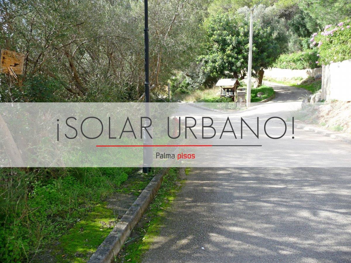 Solar urbà  Esporles ,ses rogetes. Solar urbano en Esporles