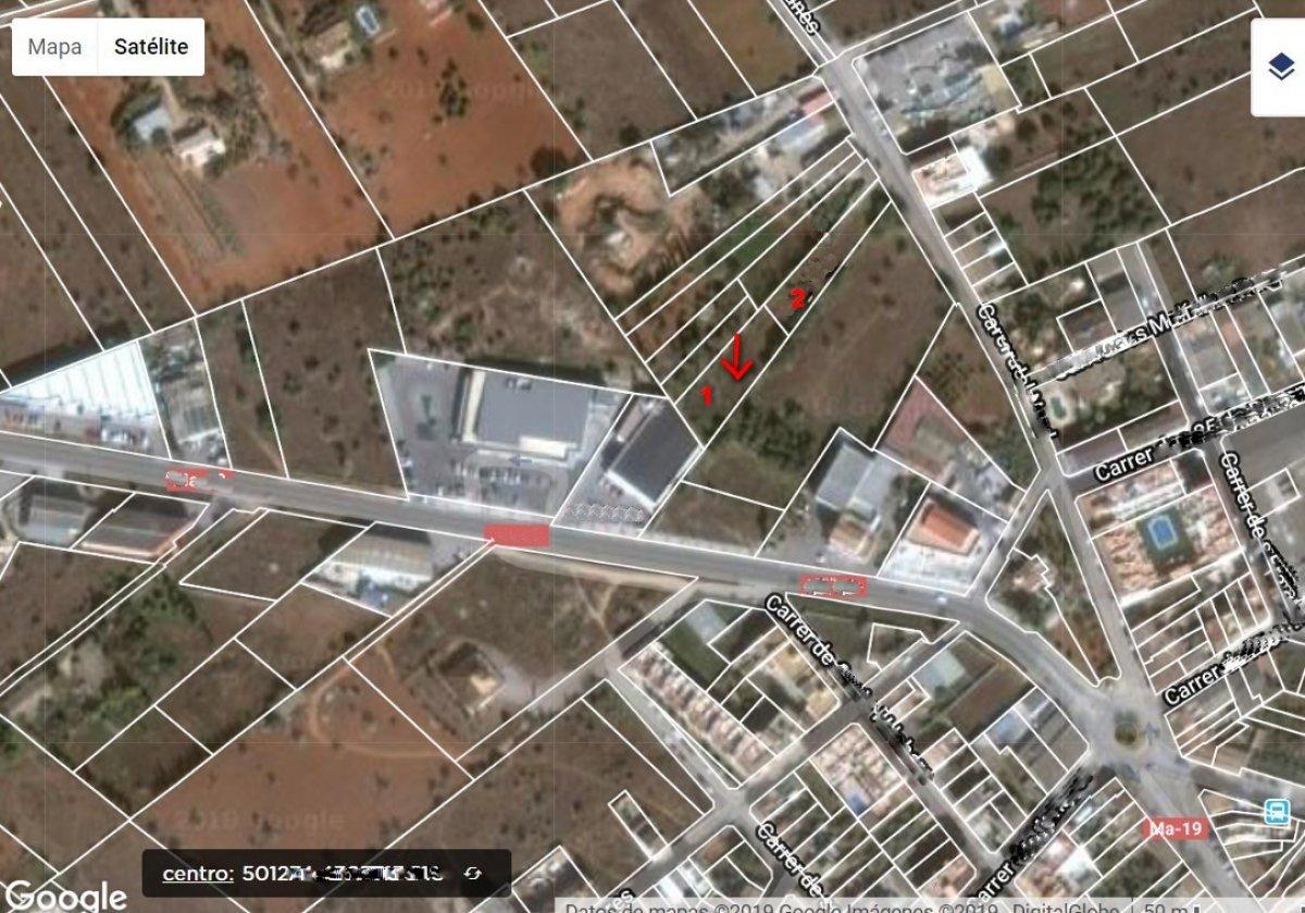 Solar urbà  Campos ,campos. Solar urbano en campos