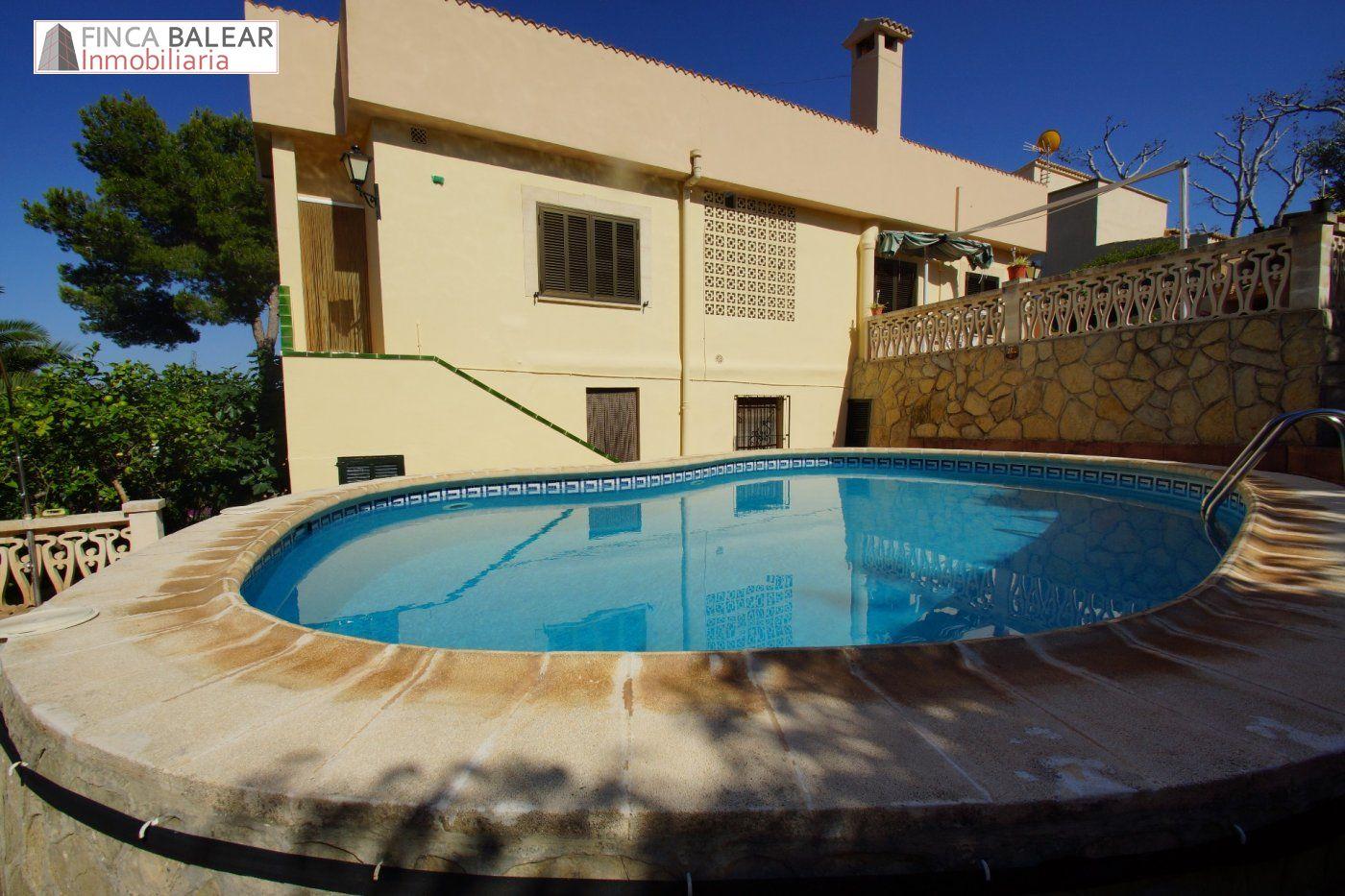 Casa  Calvia ,el toro. Chalet unifamiliar con piscina en el toro (calvia)
