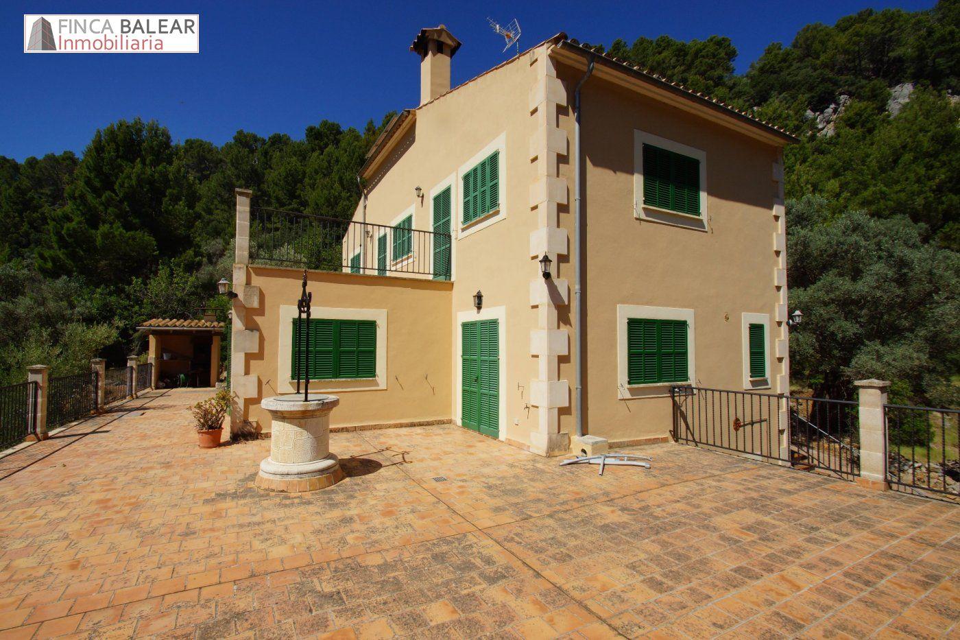 Rent House  Bunyola ,alfabia. Alquiler finca rústica de montaña ubicada en bunyola con vistas