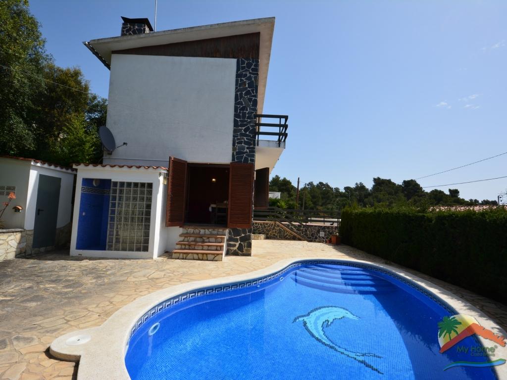 Casa  Tossa de mar - cala morisca. Casa con vistas al mar, piscina y garaje en cala morisca, tossa