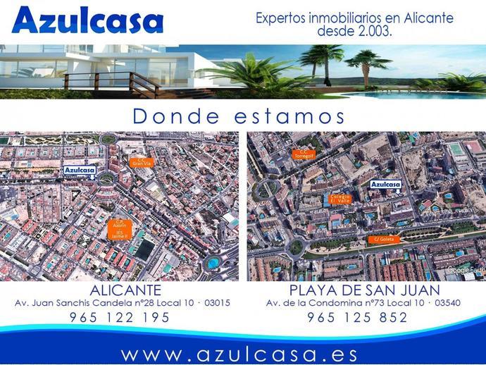 Foto 22 de Casa adosada en San Juan Playa ,Cabo De Las Huertas / Cabo de las Huertas, Alicante / Alacant