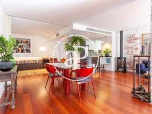 Áticos de alquiler amueblados en Barcelona Capital