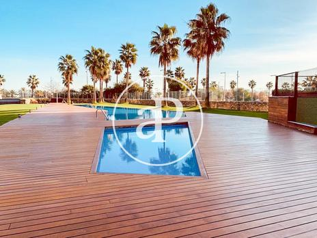 Plantas intermedias de alquiler Parking en Barcelona Capital