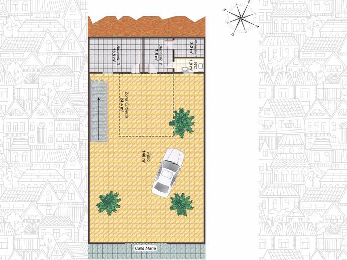 Foto 14 de Casa adosada en  General Ibañez / Olletas - Sierra Blanquilla, Málaga Capital