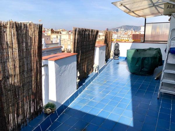 Viviendas en venta con terraza en Barcelona Capital