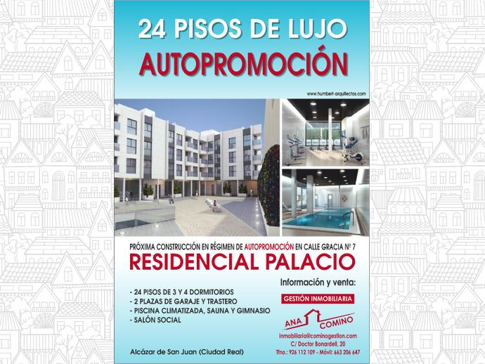 Piso en alc zar de san juan en avenida gracia 7 136743446 for Pisos en alcazar de san juan