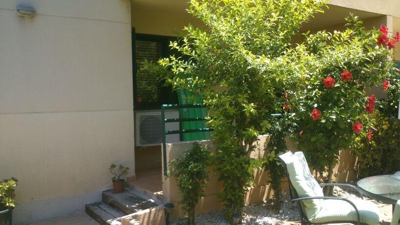 Alquiler de Temporada Piso  Calle juan gris. Planta baja para alquilar en complejo residencial cerca de la po