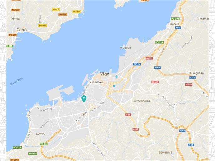 Foto 6 de Piso en  Torrecedeira / O Berbés - Peniche, Vigo