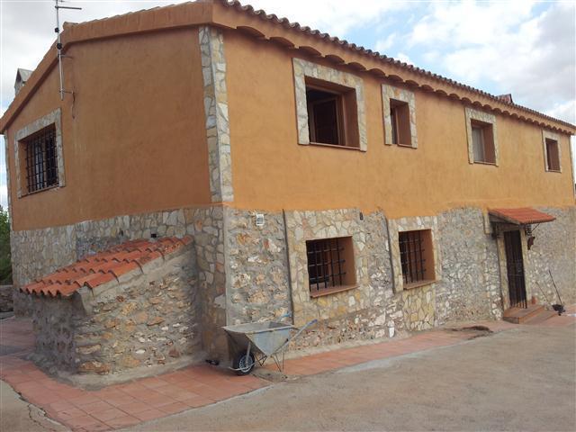Casa  Borriol, zona de - vilafamés. Expectacular masia casa de campo solitaria de piedra con terrano