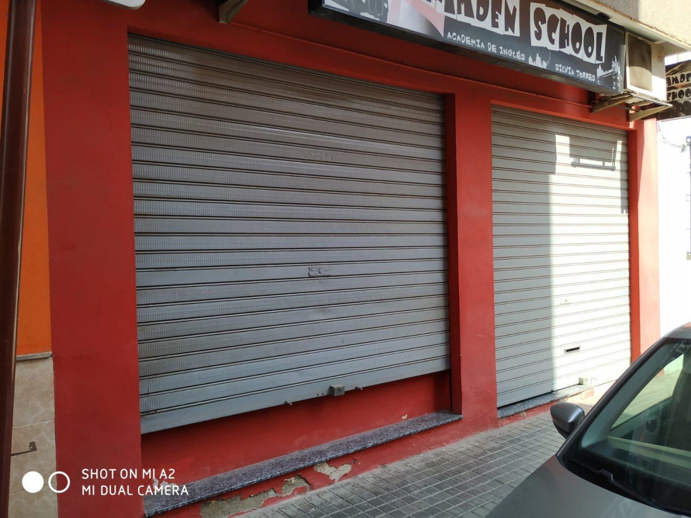 Lloguer Local Comercial  Alboraya ,centro. Local comercial acondicionado para oficina en zona comercial de