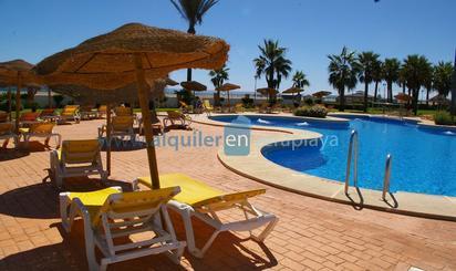 Apartamentos de alquiler vacacional baratos en Playa El Playazo -Vera Playa , Almería