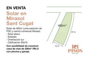 Terreno Residencial en Venta en Mira-sol / La Floresta - Les Planes