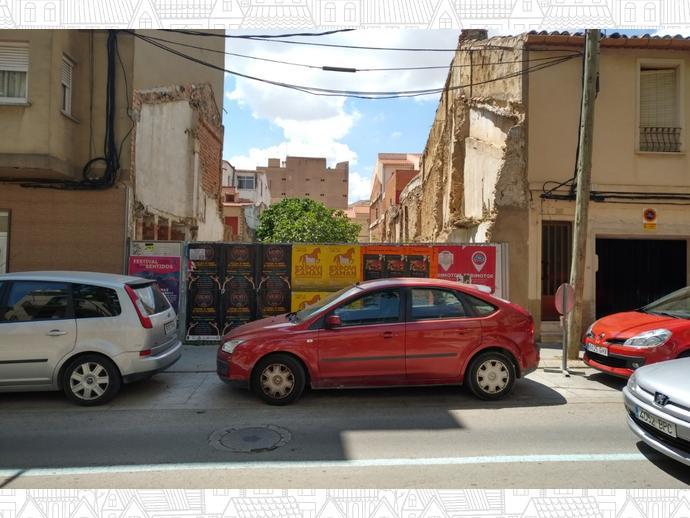 Foto 1 de Terreno Residencial en Calle San Antonio / Almansa