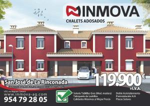 Casa adosada en Venta en Promoción Nueva en Construcción, 33 / La Rinconada