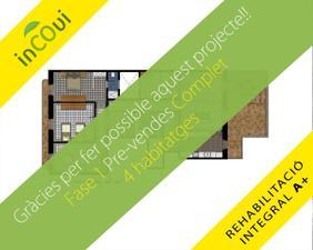 Piso en Venta en Proyecto Nuevo, En Centro Ciudad Eficiente y Sostenible en Edificio Modernista / Centre