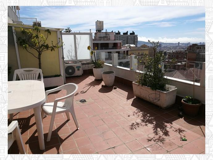 Foto 1 de Ático en  Plaza Sanllehy / Can Baró,  Barcelona Capital