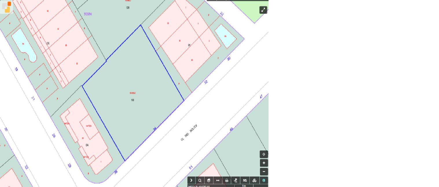 Solar urbà  Bellreguard, zona de - miramar