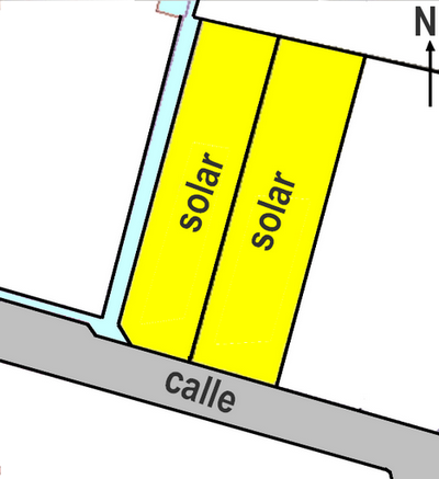 Stadtgrundstück  Sa cabaneta